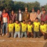बांदा के सिमौनीधाम में वॉलीबाल प्रतियोगिता में किसान स्पोर्ट्स क्लब बड़ोखर ने बाजी मारी