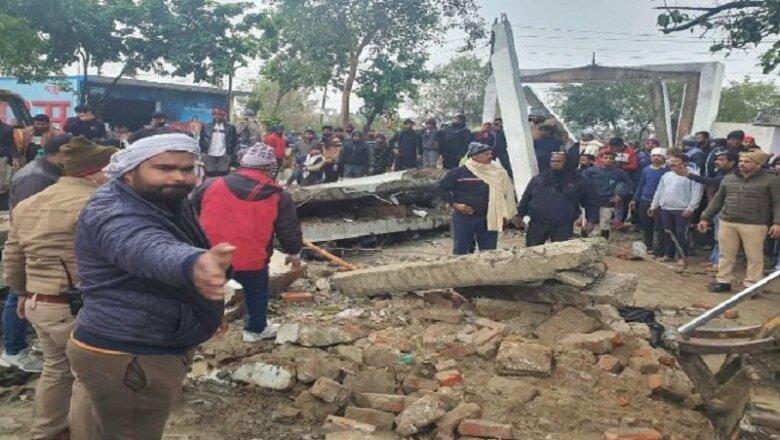 UP : शमशान घाट की छत गिरने से 19 की मौत, CM योगी ने मांगी रिपोर्ट