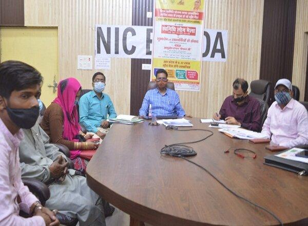 बांदा में नगर विकास मंत्री ने किया स्वनिधि लोन मेले का शुभारंभ
