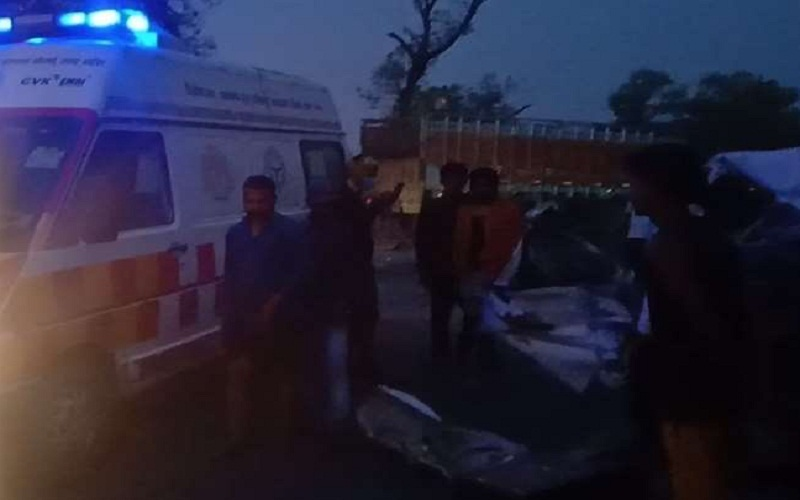 Mother's bone immersion son, daughter and aunt going to death, 5 injured in accident