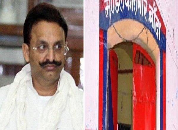 #MukhtarNews : माफिया विधायक मुख्तार अंसारी से जेल में मिले पत्नी-बेटे