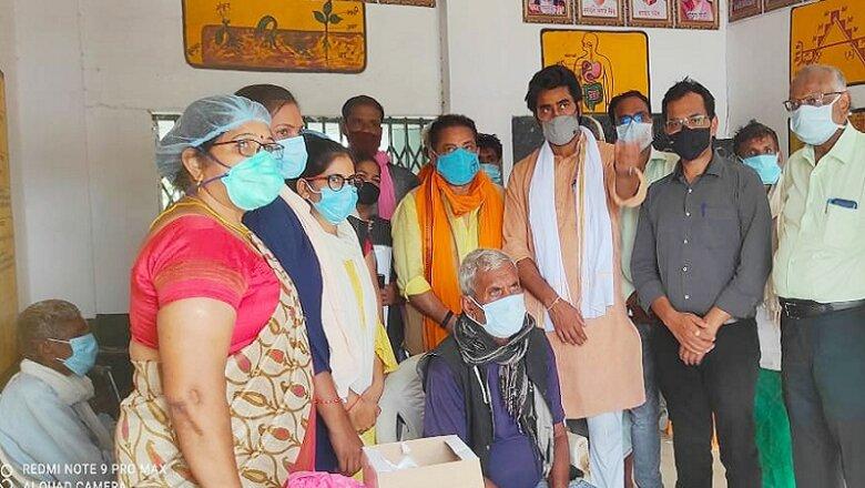 Covid19 Vaccination : बांदा में राजा बुंदेला बोले, लोगों को घर-घर जाकर करेंगे जागरुक
