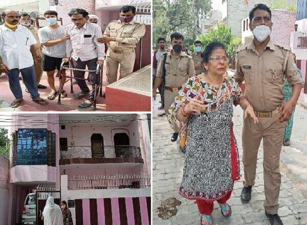 Breaking : कानपुर के पाॅश इलाके में दिनदहाड़े दंपती को बंधक बनाकर लूटपाट, बेरहमी से पिटाई-चाकू मारे
