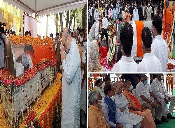बाबू जी कल्याण सिंह पंचतत्व में विलीन, राजकीय सम्मान से अंतिम संस्कार