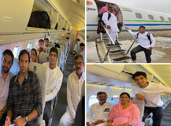 #NeerajChopra :  नीरज चोपड़ा ने माता-पिता को लेकर पूरा किया अपना यह सपना..